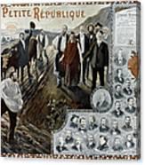 France: Socialism, 1900 Canvas Print