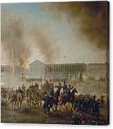 Franco-prussian War, 1870 Canvas Print