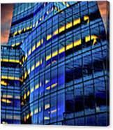 Frank Gehrys Iac Building Canvas Print