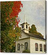 Franklin Church Canvas Print