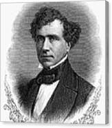 Franklin Pierce (1804-1869) Canvas Print