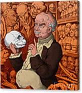 Franz Josef Gall, German Physiognomist Canvas Print