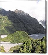 Franz Josef Glacier Nz Canvas Print
