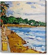 Frederiksted By The Pier Canvas Print