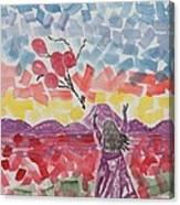 Freedom Girl     Canvas Print