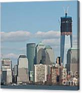Freedom Tower And Manhattan Skyline II Canvas Print