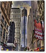 Freedom Tower Rising Canvas Print