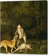 Freeman - The Earl Of Clarendon's Gamekeeper Canvas Print