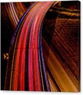 Freeway Lights 1 Canvas Print