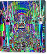 Fremont Street Experience Nevada Canvas Print