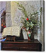French Church Decorations Canvas Print
