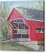 French Lick Covered Bridge Canvas Print