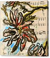 French Magnolia Minuet Canvas Print
