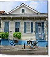 French Quarter Home Canvas Print