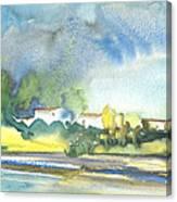 French Village 01 Canvas Print