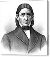 Friedrich Frobel, German Pedagogue Canvas Print