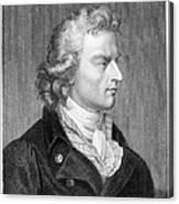 Friedrich Schiller Canvas Print