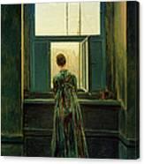 Friedrich Woman 1822 Canvas Print