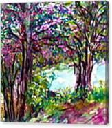 Friendship Trees Canvas Print