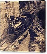 Frisco Steam Train Canvas Print