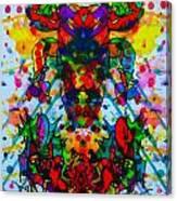 Frogman 2 Canvas Print