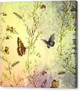 Frolicing Butterflies Canvas Print