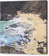 From Here To Eternity Beach Canvas Print