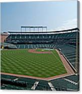 From Left Field Canvas Print