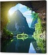 From The Grotto Canvas Print