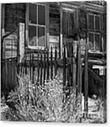 Front Porch Bodie Ghost Town California Canvas Print