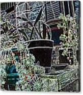 Front Porch Garden Canvas Print