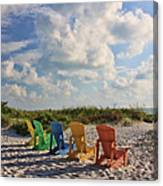 Front Row Seats Canvas Print