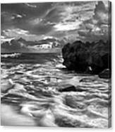 Frothy Seas Canvas Print