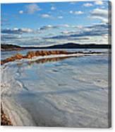 Frozen Shoreline Canvas Print