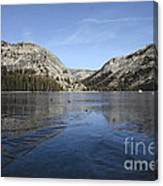 Frozen Tenaya Lake Canvas Print