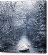 Frozen Time Canvas Print