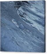 Frozen Wave Canvas Print