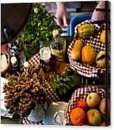 Fruit Arrangement Canvas Print