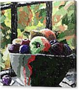 Fruit In Autumn Canvas Print