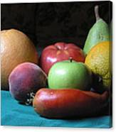 Fruit On The Porch Canvas Print