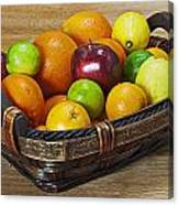 fruits with vitamin C Canvas Print