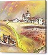 Fuente Del Cuellar In Spain Canvas Print
