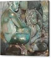 Fuente Girondins-Detalle Canvas Print