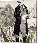 Fukuchi Genichiro Canvas Print