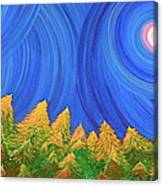 Full Moon Forest By Jrr Canvas Print