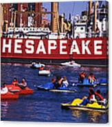 Fun On Chesapeake Bay Canvas Print