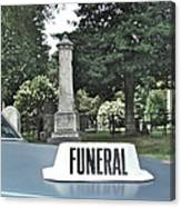 Funeral Canvas Print