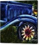 Funky Old Car Canvas Print