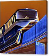 Future Monorail Canvas Print