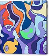 Fuzzy Island Canvas Print